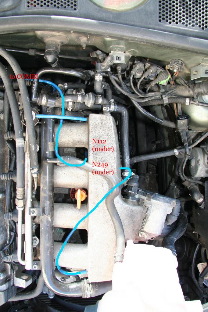 1 8t Awm Vacuum Hoses Replacement - PassatB5